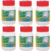 Limpa Gordura Forno Fogão Diabo Verde 250g - Kit com 06 Unidades -