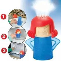 Limpa Microondas à vapor Angry Mama Remove Manchas e Odores - Top Total