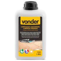 Limpa Pedra Piso Concentrado Para Limpeza Pesada Remoção de Óleo Gordura e Fuligem Vonder 1 Litro -