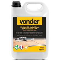 Limpa Pedra Piso Concentrado Para Limpeza Pesada Remoção de Óleo Gordura e Fuligem Vonder 5 Litros -