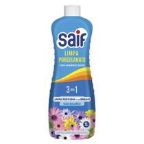 Limpa Porcelanato 3 em 1 Saif Concentrado com Oxigênio Ativo 1L -