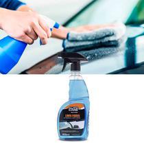 Limpa Vidro Carro Casa 500ml Remove Gordura Fuligem Da Brilho Protege Auto Care Multilaser AU446 -