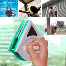 Limpa Vidros Magnético Limpador Janela Com Imã Novo Modelo Resistente - Penselarfun