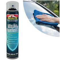 Limpa Vidros Spray Proauto 300ml para Limpeza de Vidros e Espelhos Proteção sem Manchas Perfumado -