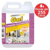 Limpador Concentrado Gel de Uso Geral Lavanda 5 Litros. Limpa, Perfuma, Desinfeta e dá Brilho. Faz até 255 Litros - Sunquimica