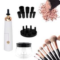 Limpador de Pincel Elétrico Maquiagem Make Limpa e Seca Rápido - Makeup Brush