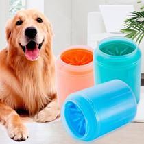 Limpador Limpa patas Pet Cães e Gatos- Cachorro  em Silicone - Lançamento - Soft Gentle
