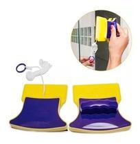 Limpador Magnético De Vidros Aquários Janelas Limpeza - --