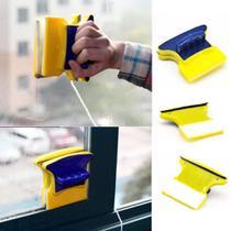 Limpador Magnetico Limpa Vidro Janela Aquario Esquadrias - M&C