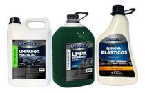 Limpador Multiacao Limpa Estofados Renova Plastico - Vonixx