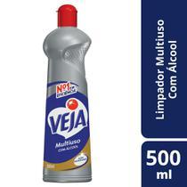 Limpador Multiuso Bio Álcool Veja Squeeze 500Ml Limpa Inox -