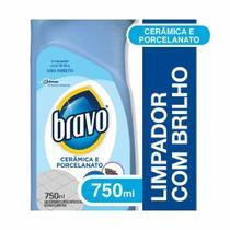Limpador para Porcelanato e Ceramica 750ml 1 UN Bravo -