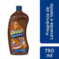 Limpador Piso Madeira Lavanda E Vanilla Destac Squeeze 750Ml -