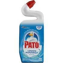 Limpador Sanitário Pato Gel Limpeza Profunda Marine 500ml -