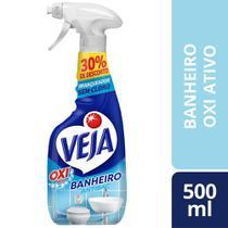 Limpador Spray Anti Bac Veja Banheiro Oxi 500Ml Oferta -
