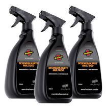Limpeza Pesada Desengordurante e Desengraxante 3 unidades Braclean -