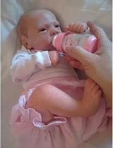 Lindo Boneca Reborn Rafaela Carequinha - Baby Dollls