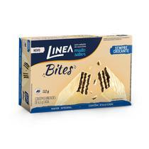 Linea Bites Mini Wafer Cookies'N Cream 52G - 8 Unidades -