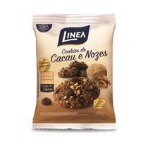 Linea Cookie Chocolate E Nozes 10x40g -