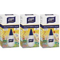 Linea Sucralose Adoçante Líquido 75ml (Kit C/03) -
