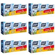 Linea Sucralose Adoçante Sachê 3x50 (Kit C/06) -