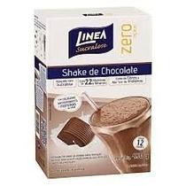 Linea Zero Shake C/ Colágeno Chocolate 400g (Kit C/06) -