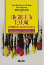 Linguistica textual - interfaces e delimitacoes - homenagem a ingedore grun - Cortez -