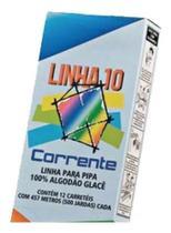 Linha 10 Corrente 500 Jardas P/ Pipa C/12 Oferta -