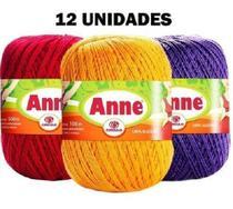 Linha Anne 500 - Kit 12 Unidades Cores Variadas - Circulo