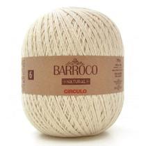 Linha Cordão Barbante Barroco Natural Círculo Nº6 - 700g -