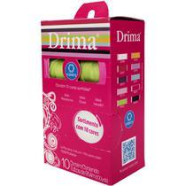 Linha Corrente Drima 10 Cores C/100 Jardas CD - Coats Corrente