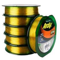 Linha de Nylon Araty Ouro (0.70mm - 120m) -