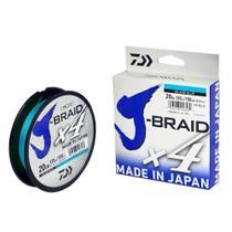 Linha Dw J-braid x4ui Blue 40lb 0,29mm 135m - Daiwa