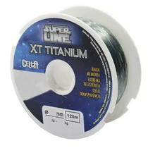 Linha Monofilamento Celta Super Line XT Titanium (0.37mm - 120m) -