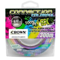 Linha Multifilamento Connection Color 9x 300m 0,35mm - Joga