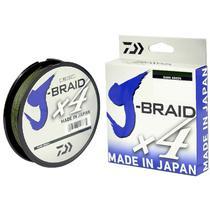 Linha Multifilamento Daiwa J-braid 4x - Várias Bitolas 270 Metros -