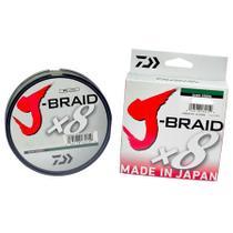 Linha Multifilamento J-Braid X8 20lbs 0,23mm 150m - Daiwa -