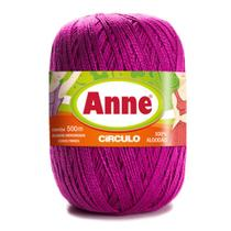 Linha para Crochê c/ 500m Anne - Cor 6116 Rosa Choque - Círculo