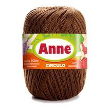 Linha para Crochê c/ 500m Anne - Cor 7382 Chocolate - Círculo