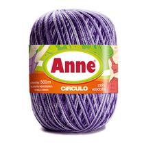 Linha para Crochê c/ 500m Anne Mesclada - Cor 9587 - Círculo