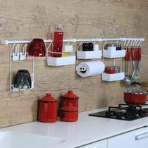 Linha Requinte para parede de cozinha Metaltru - Kit 12 -