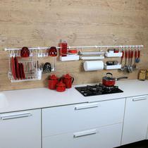 Linha Requinte para parede de cozinha Metaltru - Kit 14 -