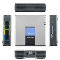 Linksys SPA2102 2 FXS Analógicas Voip Gateway Ata Sip -