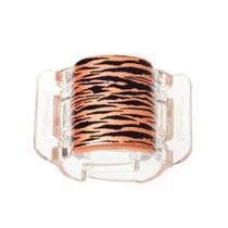Linziclip Tiger Pearlised Orange Peel -