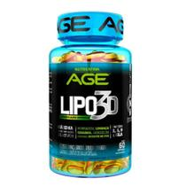Lipo 3d nutrilatina age 6 óleos e 60 cápsulas -