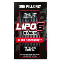 LIPO 6 BLACK 60 Cápsulas - Nutrex Research