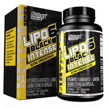 Lipo 6 Black Intense (120 Caps) - Nutrex Research