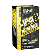 Lipo 6 Black Intense 120Caps Nutrex -