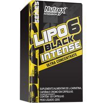 Lipo 6 Black Intense Ultra Concentrado (120 cápsulas) Nutrex Research -