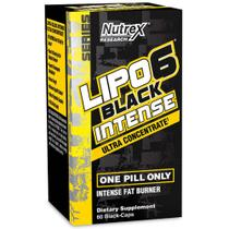 Lipo 6 black intense ultra concentrate - 60 capsulas - nutrex